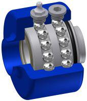 Swivel Joint Type FP for food and pharmaceuticals (FDA conform)